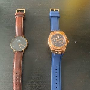 Selling d and w and guess watches.